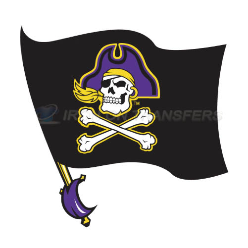 East Carolina Pirates Iron-on Stickers (Heat Transfers)NO.4307